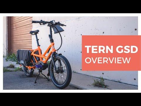 Meet the Tern Bikes GSD Electric Cargo Bike