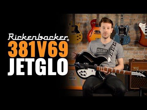 Rickenbacker 381V69 Jetglo - Earthquaker Devices Sea Machine Chorus