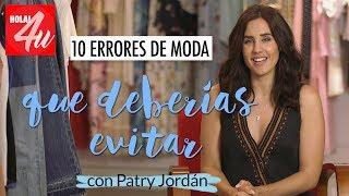10 errores de moda que debes evitar   Arréglate conmigo con Patry Jordán