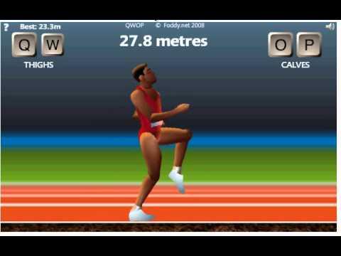 QWOP Running (50m)