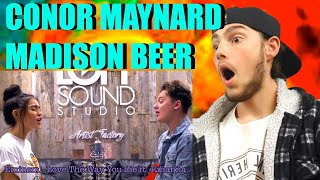 MUSICIAN REACTS: CONOR MAYNARD, MADISON BEER - DUSK TILL DAWN SING OFF | WOW!!!