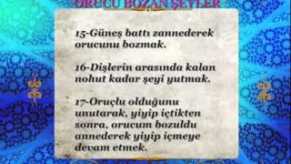 ORUCU BOZAN ŞEYLER