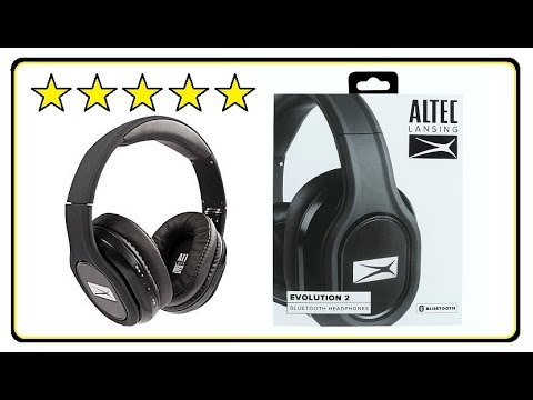 Altec Lansing Evolution 2 Bluetooth Headphones Product Review MZX667