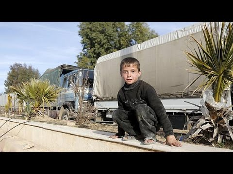 Syrie: des convois d'aide humanitaire parviennent aux villes assiégées