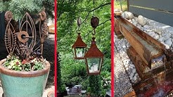 Garden Art & Decor Project Ideas from Metal Things