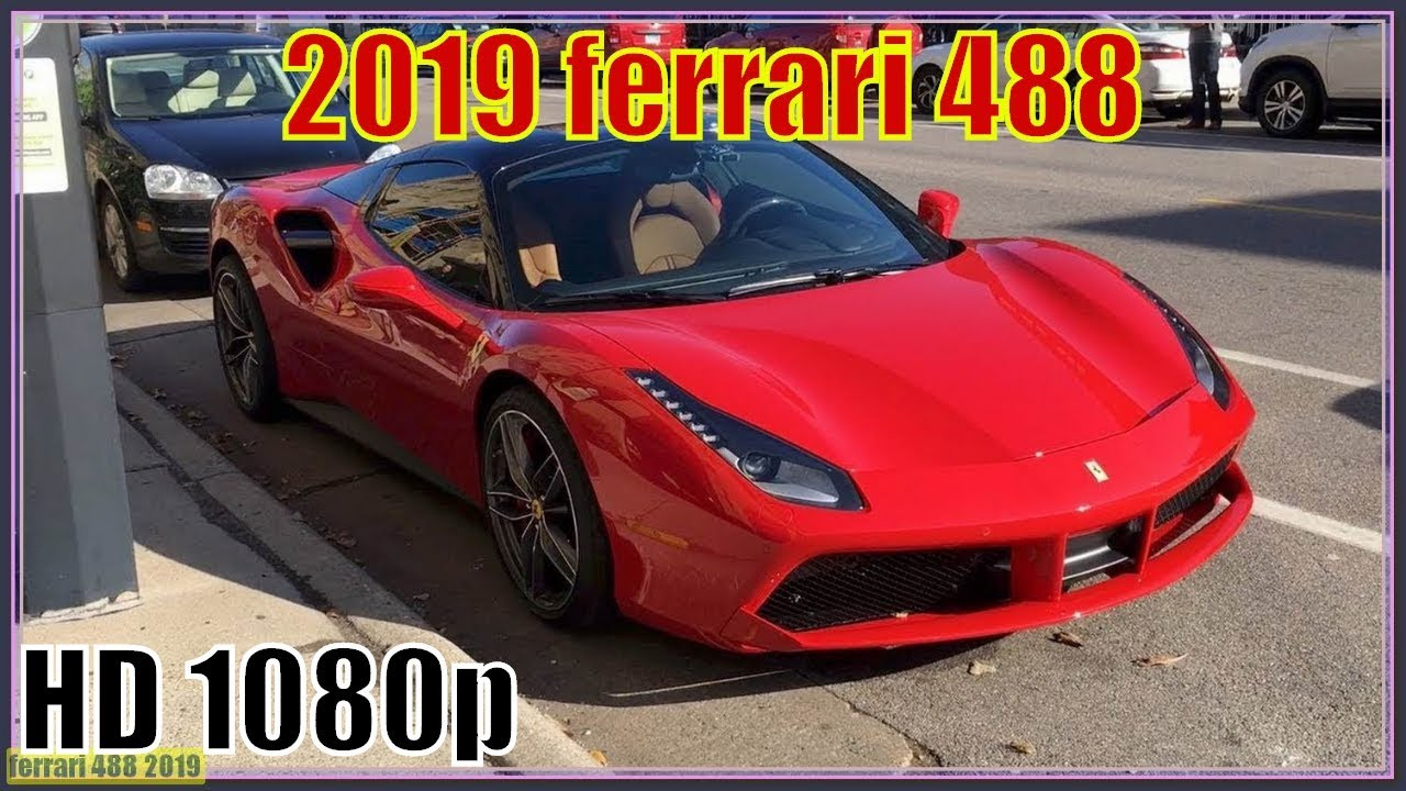 Ferrari 488 2019 New 2019 Ferrari 488 Review Maximum Appreciation At 211 Mph