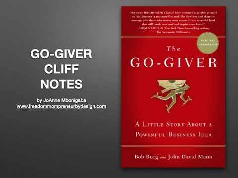 Go-Giver Cliff Notes | Go-Giver book summary | Go-Giver book  commentary | Receive Go-Giver pdf