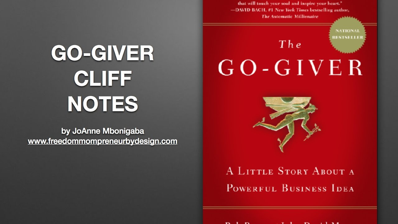 the go giver summary pdf