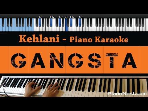 Kehlani - Gangsta - LOWER Key (Piano Karaoke / Sing Along) From Suicide Squad