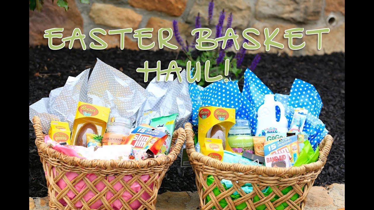 Easter basket haul brooklyn and bailey youtube negle
