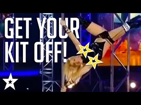 Leaving little to the imagination! | The Clothes are off on Got Talent
