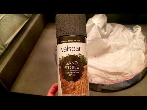 DIY Stone Countertops with Spray Paint!