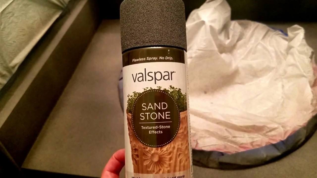 Diy Stone Countertops With Spray Paint