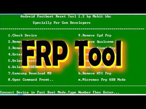 Android Fastboot Reset Tool V1 2 | 100% Working Mobile Repair Software