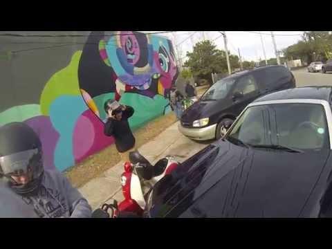 Honda Ruckus, Metropolitan ride Charleston S.C.