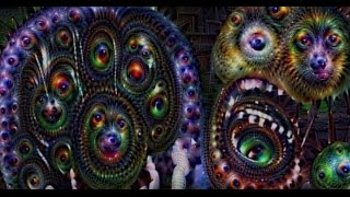 FIVE NIGHTS AT FREDDY'S ON DRUGS. -- Deep Dream