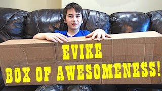 UNBOXING THE EVIKE BOX OF AWESOMENESS WITH ROBERT-ANDRE!