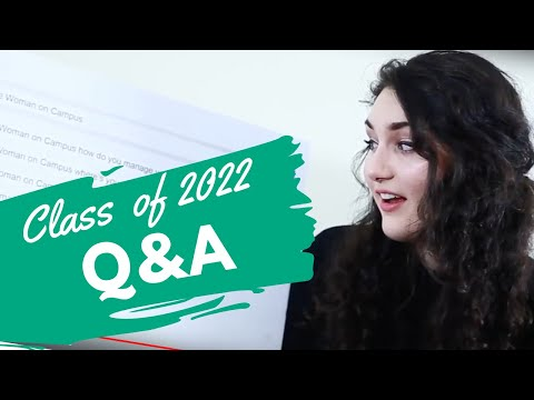 Woman On Campus Answers the Class of 2022's Questions