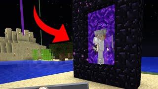Hogaty i Sylo w Minecraft - PIERWSZY PORTAL I PODRÓŻ DO PIEKŁA! - RubaszneRP