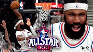 ALL-STAR DRAFT & GAME vs TEAM LEBRON! NBA 2K20 My Career Gameplay Paint Beast