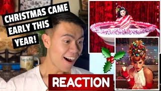 Katy Perry - Cozy Little Christmas (Music Video) REACTION