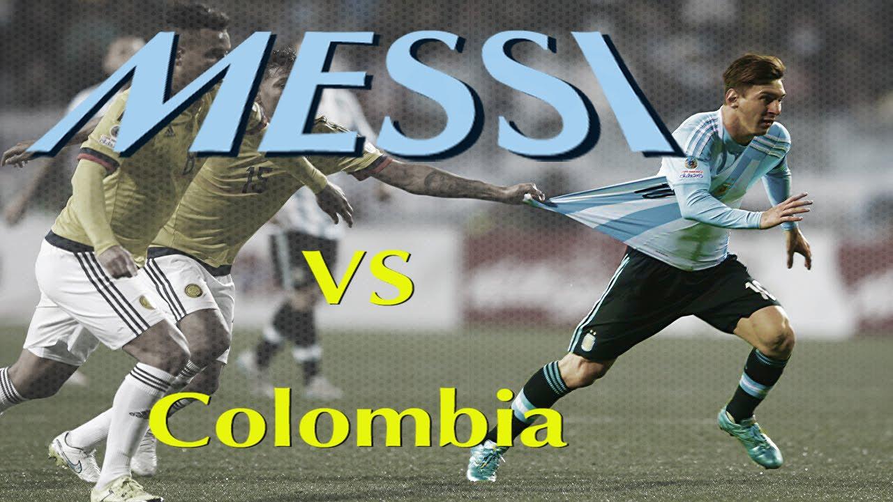 Lionel Messi Vs Colombia Copa America 2015 ||HD|| - YouTube