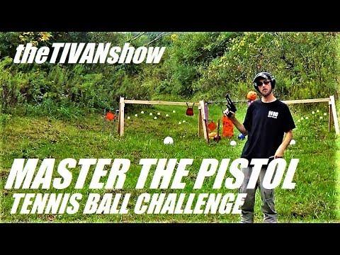EPIC TENNIS BALL CHALLENGE PISTOLS ONLY theTIVANshow October event