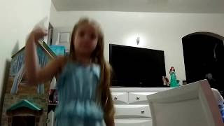 Brother Catches Sister Dancing