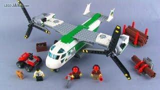 LEGO City Cargo Heliplane 60021 set review!