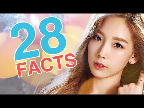 28 Facts about Girls' Generation's Kim Taeyeon l @Soshified