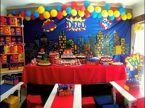 Fiesta de marvel superheroes ideas mesa de dulces for Mesas decoradas para fiestas