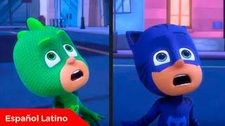 Pj masks heroes en pijamas en español latino el alborotado robot de catboy y gekko episodio 21