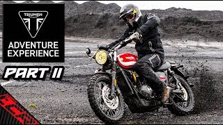 Triumph Adventure Experience | Off-road On The Scrambler - PART2