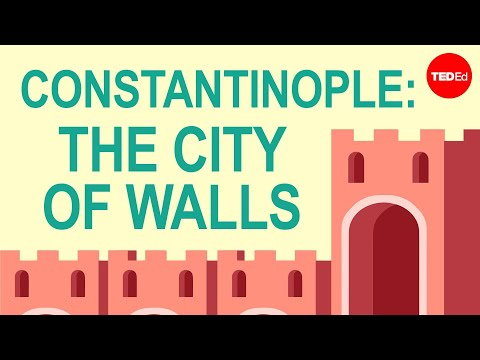 Video image: The city of walls: Constantinople - Lars Brownworth