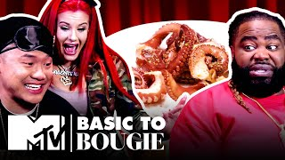 $15 Guac & A MASSIVE Octopus ft. Justina Valentine | Basic to Bougie: Season 4 | MTV