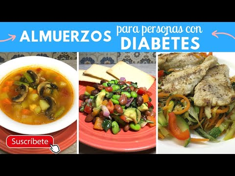 Almuerzos/Comidas para personas con Diabetes | Cocina de Addy