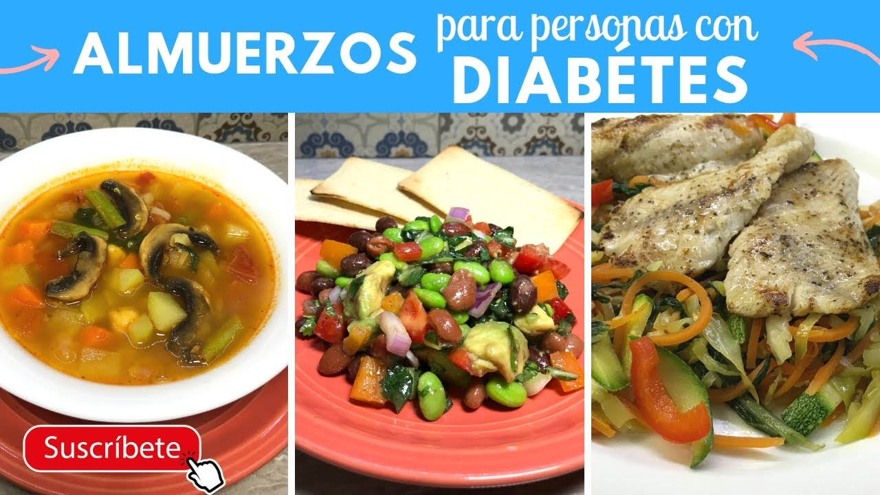 menús para niños con diabetes tipo 1