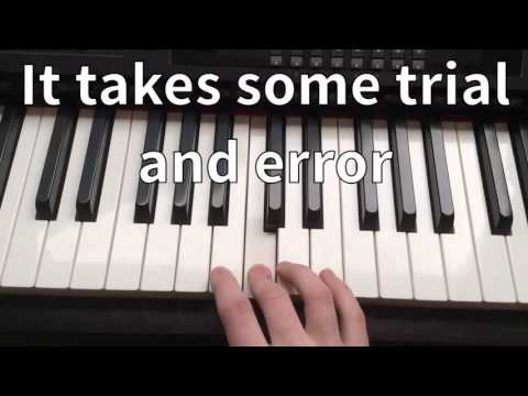 The Promise (When in Rome) - Piano Tutorial