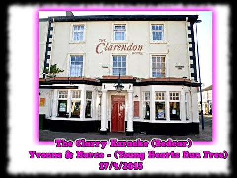 The Clarry Karaoke (Redcar) - Yvonne & Marco - Young Hearts Run Free - 17-4-2015
