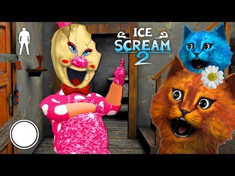 🎀 ДЕЛАЮ КОНЦОВКУ против ПРОДАВЦА МОРОЖЕННОГО БАРБИ Ice Scream 2 MOD 🎀 Полное Прохождение