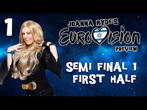 Eurovision Preview 2019 - Episode 1   Semifinal 1 - First Half