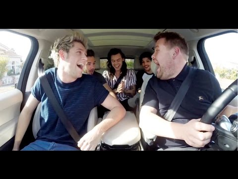 CarPool Karaoke with The America