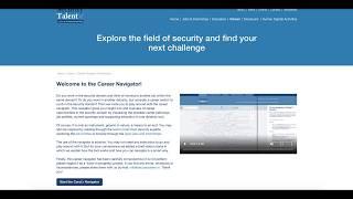 Video Tutorial Career Navigator