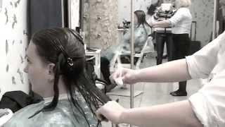 Реконструкция волос огнем Fire Cut. Мастер Лара Карпенко Киев