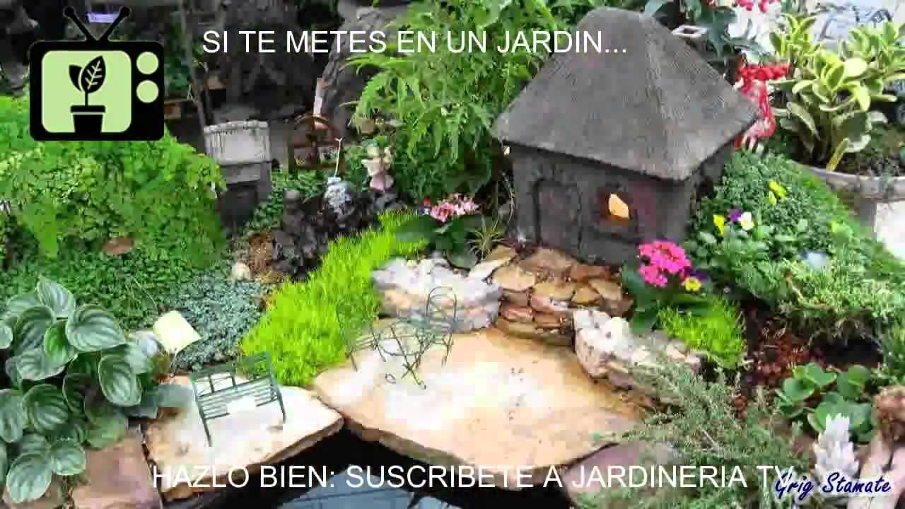 Jardineria en casa parte 26 jardiner a tv youtube for Casa para almacenaje jardin