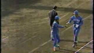 1986年日本シリーズ第8戦 西武秋山バック宙ホームイン thumbnail