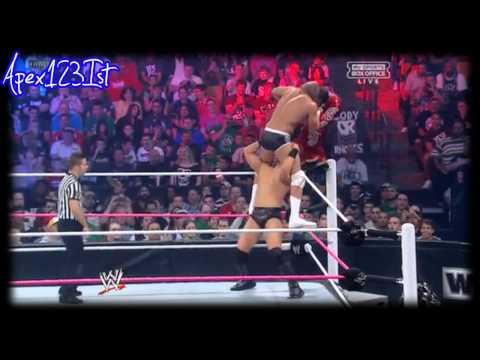 WWE Night Of Champions 2012 The Miz Vs Rey Mysterio Vs Cody Rhodes Vs Sin Cara highlights.