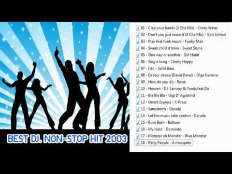 BEST DJ. NON-STOP HIT 2003