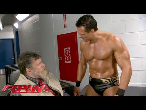 Alberto Del Rio has had enough of Zeb Colter: Raw, December 7, 2015
