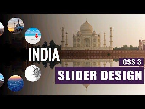 Responsive Slider With Circular Image Navbar - Html / Css / JS / Web Design